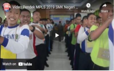 Video Pendek MPLS 2019 SMK Negeri 1 Madiun I Orientasi Lingkungan Sekolah Penyempurna Pembelajaran